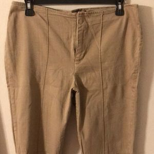 Gloria Vanderbilt Slacks Size 6 Tan used
